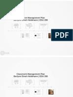 edu 299 classroom management plan pdf