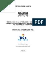 About Programa Nacional de TICS