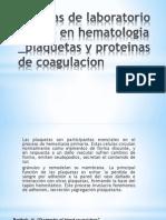 Plaquetas y Proteinas (1)
