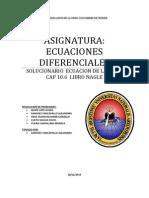 Ejercicos Resuelto de Nagle Capitulo 10.6 Ecuacion de La Onda