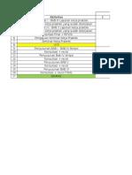 Gantt Chart Pengerjaan Skripsi
