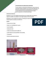 Análisis Granulométrico Por Sedimentación ASTM D422 El Análisis Hidrométrico Se Usa Para Obtener Un Estimado de La Distribución e Basa en La Ley de Stokes
