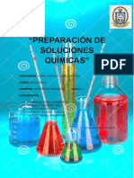 Preparación de Soluciones Químicas