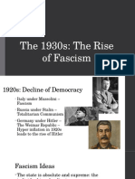 1930s the rise of fascism