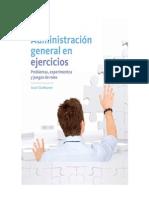 Administracion General en Ejercicios (Problemas)