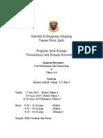 Kertas Kerja Program Awal Remaja 2015