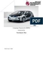 Marketing Campaign proposal for BMW's i3