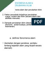 II. FENOMENA ALAM & PERUBAHAN IKLIM.ppt