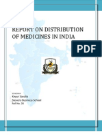 Pharmaceutical Distribution in Inida