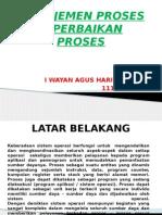 Manajemen Proses & Perbaikan Proses