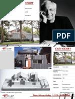 Proyecto Casa Gehry - Arq. Frank Gehry - Tema Deconstructivismo
