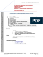 IV Complications Policy