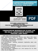 Manajemen Laboratorium Kimia