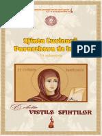 Sfanta Parascheva de la Iaşi (14 octombrie)