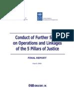 5 Pillars of Justice