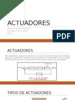 actuadores electricos, neumaticos y hidraulicos