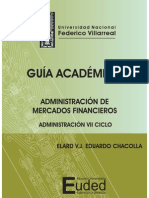 Administración de Mercados Financieros