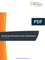 CIS Red Hat Enterprise Linux 6 Benchmark v1.2.0