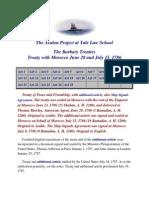 The Barbary Treaties