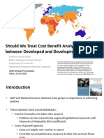 Cost-Benefit Analysis in Poor and Rich Countries
