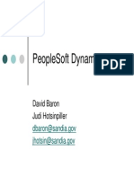 Peoplesoft Dynamic Roles