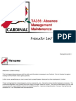 TA366 Absence Management Maintenance (1)