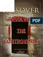 Resolving The PASSOVER CONTROVERSY