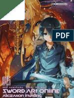 Sword Art Online 15 Alicization Invading Español (en Progreso).Protected
