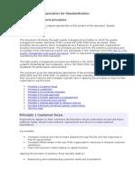 ISO Quality Mgt Principles