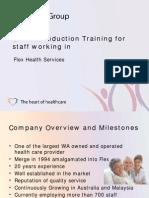 Flex Health Induction Presentation