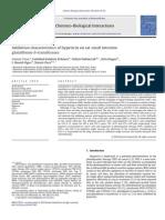 Inhibition Characteristics of Hypericin on Rat Small Intestine Glutathione-S-transferases