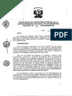 Central Resolución 271 2014 SG