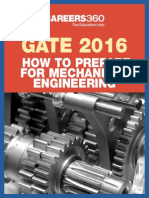GATE 2016 - How to Prepare for Mechanical Engineering
