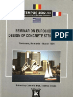 Seminar on EUROCODE 2 - Design of Concrete Structures