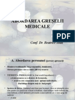 Abordarea greselii medicale.ppt