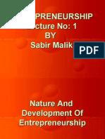 Lecture 01 Sabir