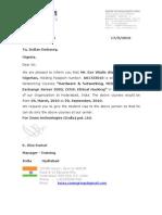 Zoom Technologies Invitation Letter