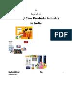 Personal Care Industry Report - Saksham