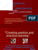 Creating Positive and Practical Learning