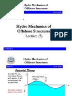 5 HydroMechanicsofOffshoreStructuresmm771 2014 2015