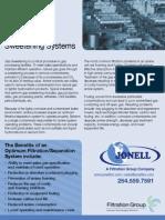Gas (Amine) Sweetening Process - Jonell Filtration Applications GasSweet 1015