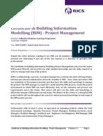 RICS Course Guide BIM