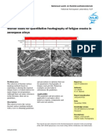 Marker Loads for Quantitative Fractography of Fatigue Cracks in Aerospace Alloys