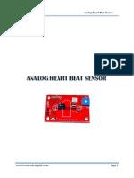 Analog Heart Beat Sensor