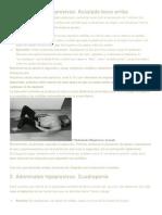 Adominales hipopresivos