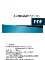 Antimanic Drugs