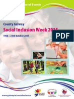 Programme of Events Social Inclusion Week 2015