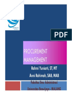 5 Procurement Management