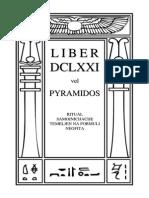Alister Krouli - Liber Dclxxi Vel Pyramidos