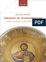 O. Davies - Theology of Transformation - Faith, Freedom, And the Christian Act